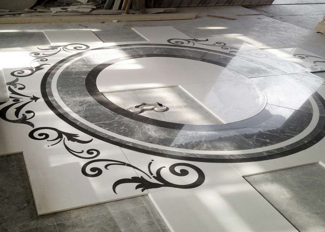 Marble Floor Inserts : Marble floor inlays lovely marbles